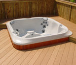 Complete Deck and Hot Tub Packages